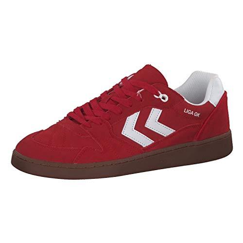 Hummel Liga GK 60089 - Sneaker da uomo, Unisex adulto, 060089-3425, nastro rosso, 36