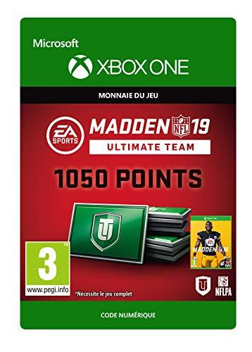 Madden NFL 19: MUT 1050 Madden Points Pack | Xbox One - Code jeu à télécharger