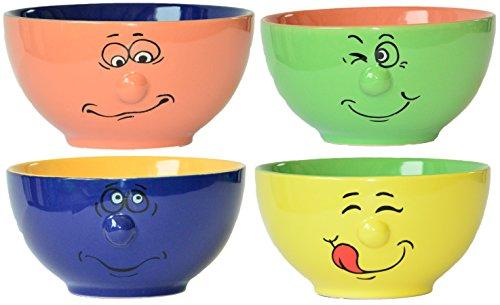 1 Stück Müslischale Ingbertson Zwinkerli, 2 farbig, Farblich nach unserer Wahl