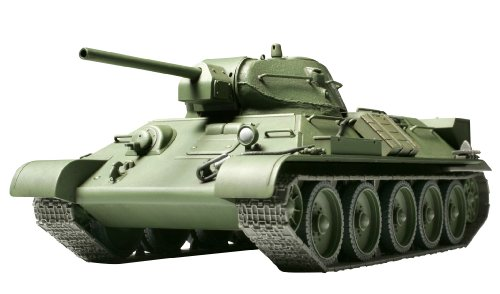 タミヤ 1/48 ミリタリーミニチュアシリーズ No.15 ソビエト陸軍 中戦車 T34/76 1941年型 鋳造砲塔 プラモデ...
