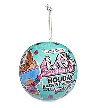 L.O.L Surprise! Holiday Present Surprise Dolls with 7 Surprises Including Surprise Tiny Elves
