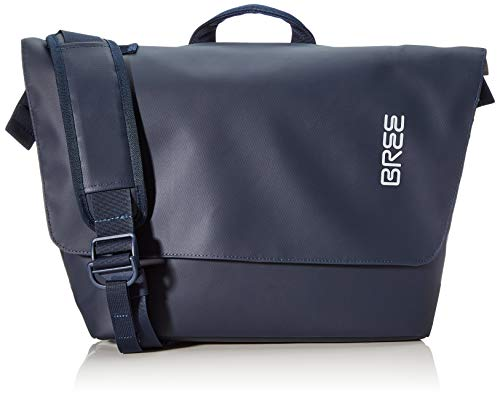 BREE Collection Unisex-Erwachsene Pnch 731, Backpack Rucksack, Blau (Blue), 16x30x34 cm