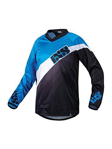 IXS, Maglietta a Maniche Lunghe Uomo Resun, Blu (Blue/Black), L