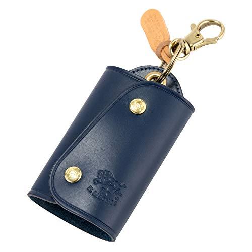 [ イルビゾンテ ] Il Bisonte キーケース キーリング C0847 P PORTACHIAVI ブルー (866 / 137 / BLU) レザー 革 キーホルダー メンズ レディース ブランド [並行輸入品]