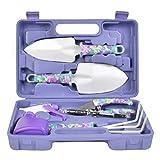 'N/A' - Juego de herramientas de jardín (5 unidades, con pala, tijeras, espray de agua y maletín)