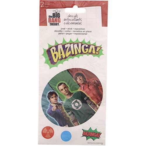 Sandylion Big Bang Theory Calcomanías para álbumes de recortes, 10.66 cm x 21.88 cm
