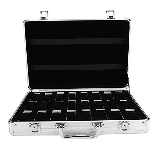 Eosnow Scatola per Orologi, Valigia per riporre Gli Orologi Protezione Completa Fodera Morbida per Orologi Acquista per riporre Gli Orologi per la Collezione di Orologi