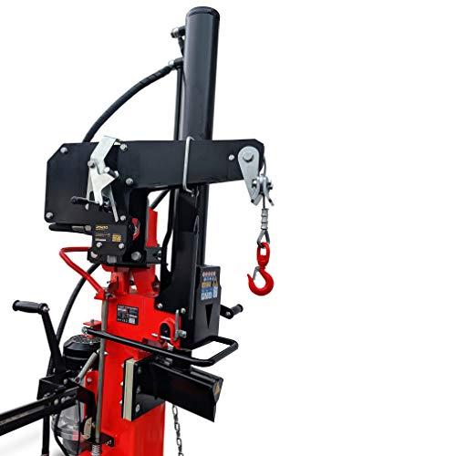 CROSSFER Hydraulische Seilwinde Zugwinde für Holzspalter mit Zapfwellenantrieb Rückewinde 490 Kg Hydraulikwinde