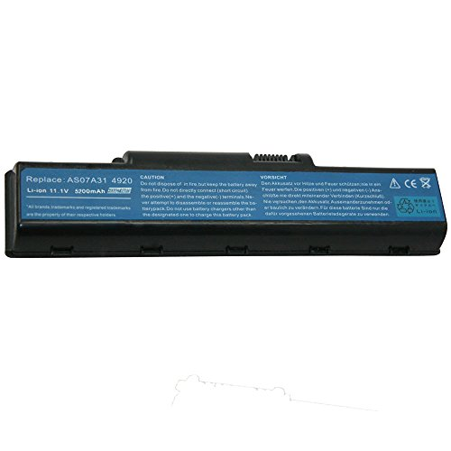 Exxact Parts Solutions Laptop Battery for Acer Aspire 4720Z 4736Z 4920 4935 5332 5535 5536G 5542G 4740 5735 5740 5735Z 5736 5736Z 5737Z 5738 5738G 5738Z AS07A31 AS07A51 AS07A41 AS07A75 AS07A32 AS07A73
