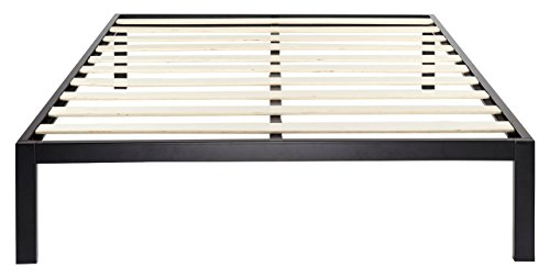 Zinus Modern Studio 14 Inch Platform 3000 Metal Bed Frame / Mattress Foundation / no Boxspring needed / Wooden Slat Support / Good Design Award Winner, Cal King