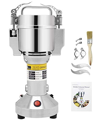 baratos y buenos Molino eléctrico CGOLDEN WALL, 150 g, molino vibratorio de acero inoxidable … calidad