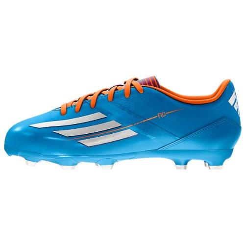 adidas F10 TRX FG Junior FuÃ?ballschuh Schuhe - Solar Blue (kleines Kind/Big Kid) - 3.5
