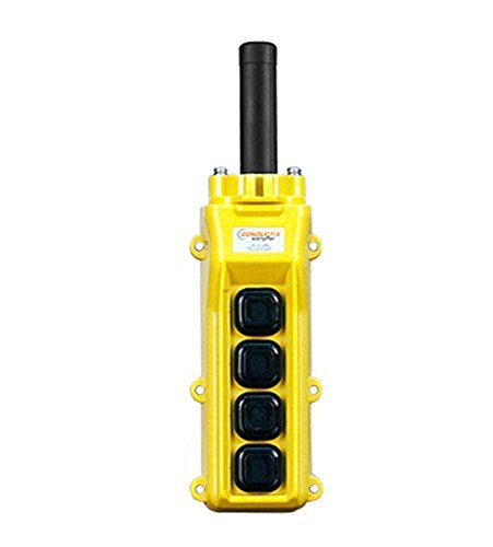 Conductix, 80 Series 4-Button Pendant, All Single Speed Part No XA-34223