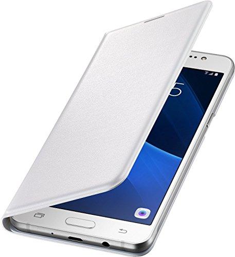 Samsung Flip Wallet Schutzhülle (geeignet für Samsung Galaxy J5 (2016)) weiß