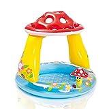 ZCPDP Aufblasbarer Babypool Kinderspiele PVC-Cartoon Summer Beach Babypool Aufblasbarer Pool 102 * 89cm