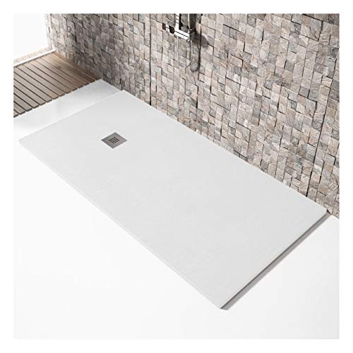 Plato de ducha resina MILANO MADISON color BLANCO 90x110cm