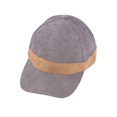 FENICAL Kids Summer Baseball Cap Sun Little Classic Ripstop Basball Hat Best Gift for The Kids (Khaki, Kids Style)