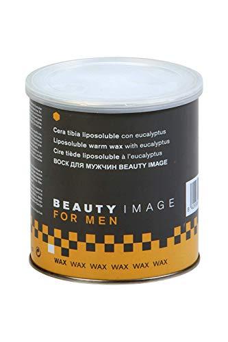 Beauty Image Cera Depilatoria Tibia para Hombre 800 gr