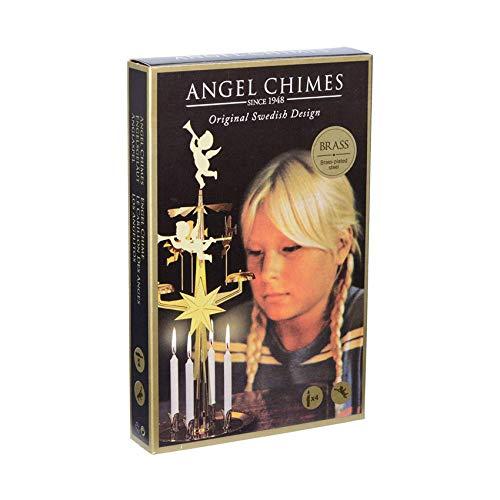 FANMEX - Fantastik - Angel Chimes - Engelsgeläute/Glockenspiel/Kerzen-Karussell (Engel Gold)