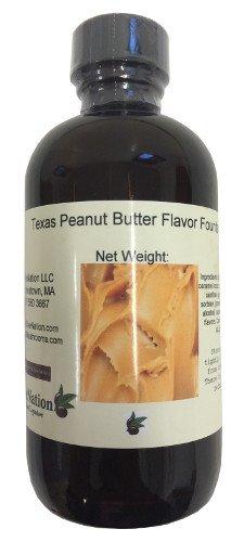 OliveNation Texas Peanut Butter Flavor Fountain - 4 ounces - Gluten-free, Sugar-free - Kosher - Premium Quality Flavoring fountain