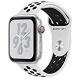 Apple Watch Nike+ Series 4 Smartwatch OLED Cellulare GPS, Argent