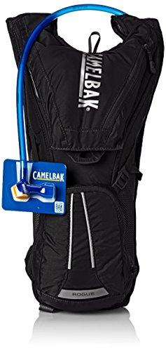 CamelBak - Mochila de hidratación para running o ciclismo, color Negro, 40 x 26 x 15 cm