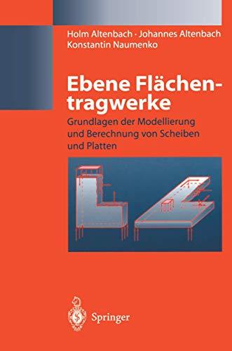 Ebene Flächentragwerke: Grundlagen der Modellierung und Berechnung von Scheiben und Platten (German