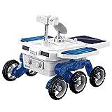 Zwbfu DIY Solar Mars Exploration Car 4WD Vehicle Assembly Kits STEM Brinquedo solar educacional precoce e movido a bateria para meninos e meninas maiores de 6 anosCarro de exploração planetária