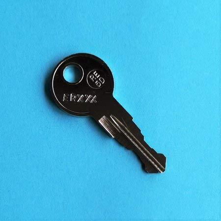 Ersatzschlüssel für Briefkasten und Briefkastenanlagen von Renz. Schlüsselcode von ER001 bis ER500. Schlüssel ER - Code 155