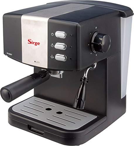 Sirge GRANBAR Macchina per Caffè Espresso e Cappuccino Manuale Pompa Italiana 15 bar 850W SUPERCREMA con FILTRO CREMAPIU