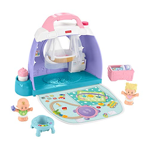 Fisher-Price GKP70 - Little People Babyzimmer-Spielset