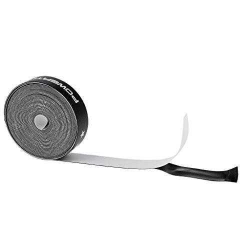 Colcolo 500cm Raqueta de Tenis Pegatina Protectora Marco de Raqueta Cinta Protectora Negro
