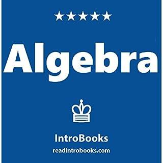Algebra audiobook cover art