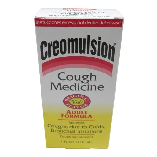 Creomulsion Cough Medicine, Adult Formula - 4 Oz by Creomulsion