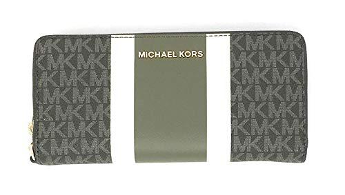 Michael Kors Women's Jet Set Travel Continental Leather Wallet Baguette