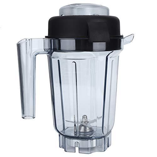 Recipiente Para Licuadora De 32 Oz, Reemplazos De Taza De Licuadora De Alimentos Transparentes, Con Cuchilla Y Tapa, Sin BPA, Para Hielo/Sopa/Nueces