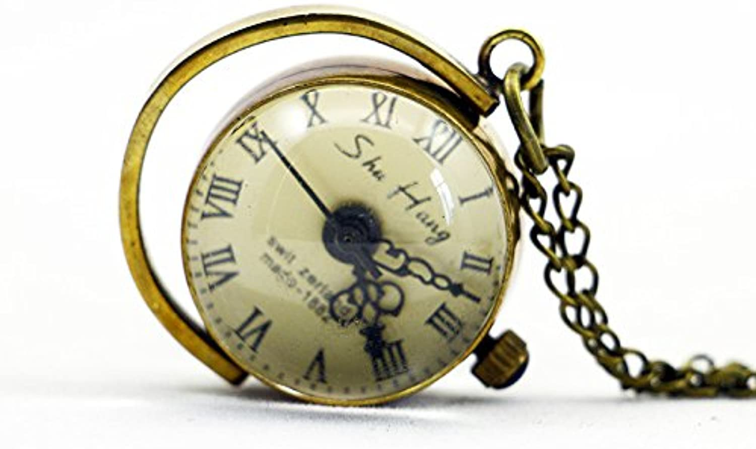 XM Classic retro digital men and women mechanical pocket watch