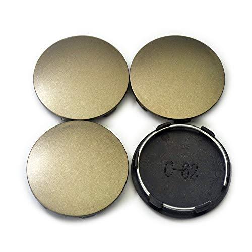 4pc 62mm/58mm High Meta Bronze Wheel Center Caps for TE37 A Flat Type