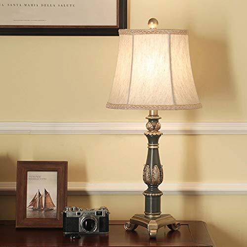 Lfixhssf Nordic hars woonkamer tafellamp beige lampenkap van decoratieve stof Desk licht woonkamer Studio bedlampje Lfixhssf