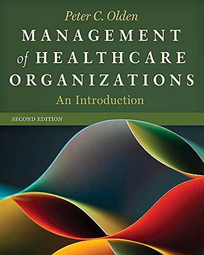 Price comparison product image Management of Healthcare Organizations: An Introduction