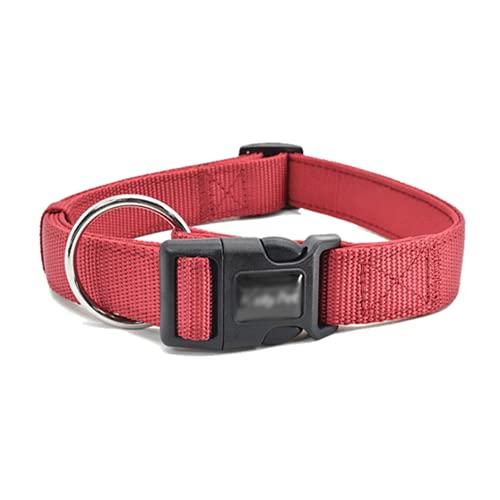 Collar para mascotas collar para mascotas duradero collar para mascotas ajustable con costuras reforzadas y correas de nailon, universal para gatos y perros, adecuado para mascotas pequeñas y medianas