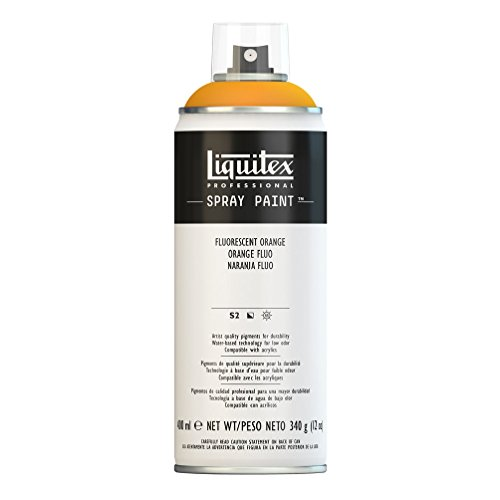Liquitex Professional - Acrílico en spray, 400ml, naranja fluorescente