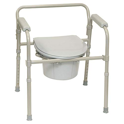 Medical 1 EA BSFC ProBasics 3-in-1 Folding Commode, 350 lb. Weight Replaces CHOP