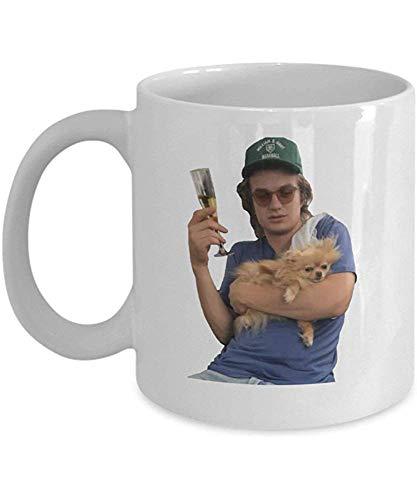Joe Kerry Steve Harrington Coffee Mug Cup (White) 11oz Pop T