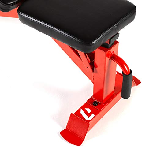 Lifeline Utility Weight Bench – Adjustable – 1,000lb Rated for Weightlifting and Strength Training