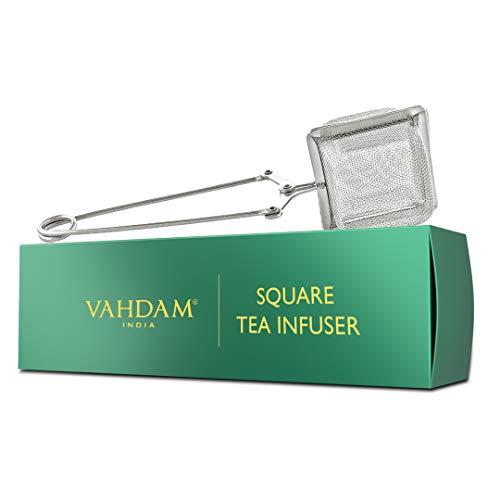 VAHDAM, infuseur à thé original | Infuseurs à thé pour thé en vrac | Crépine en mailles fines en acier inoxydable 18/8 | Meilleurs infuseur thé pour le thé en vrac | infuseur a the | thé infuseur