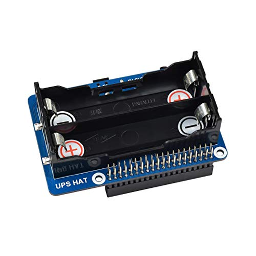UPS Hat For Raspberry Pi Series Boards Support 5V Uninterruptible Power Supply Charge and Power Output at The Same Time Real Time Monitoring