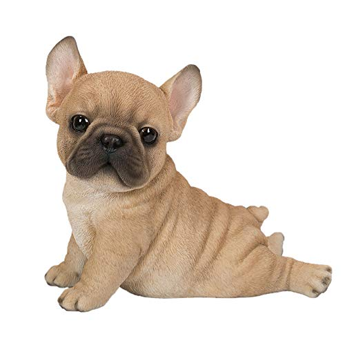 Pacific Giftware Realistic Animal French Bulldog Puppy Collectible Home Decor Figurine