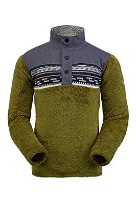 Spyder Men's Wyre Fleece Jacket – Half Snap Sweater from GBG Spyder USA LLC