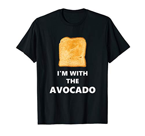 Fun Im with the Avocado Toast Halloween Costume T-Shirt